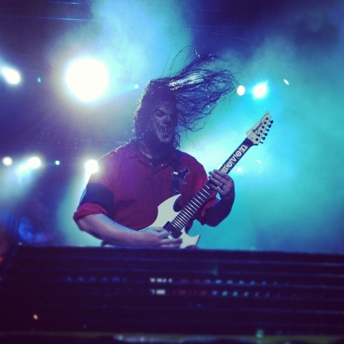 Mick live from Knotfest #slipknot #forthefans  (Taken with Instagram)