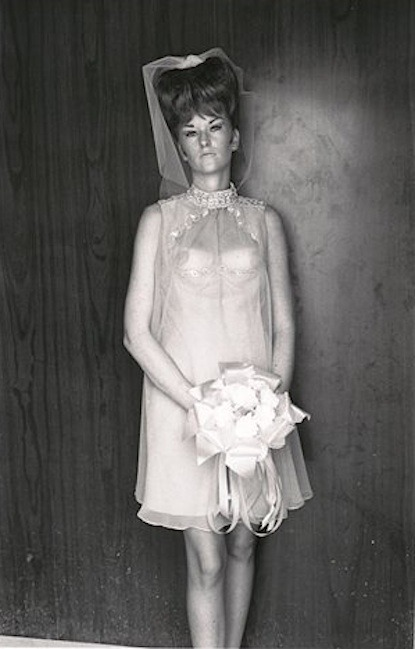 Topless bridesmaid - Lee Friedlander