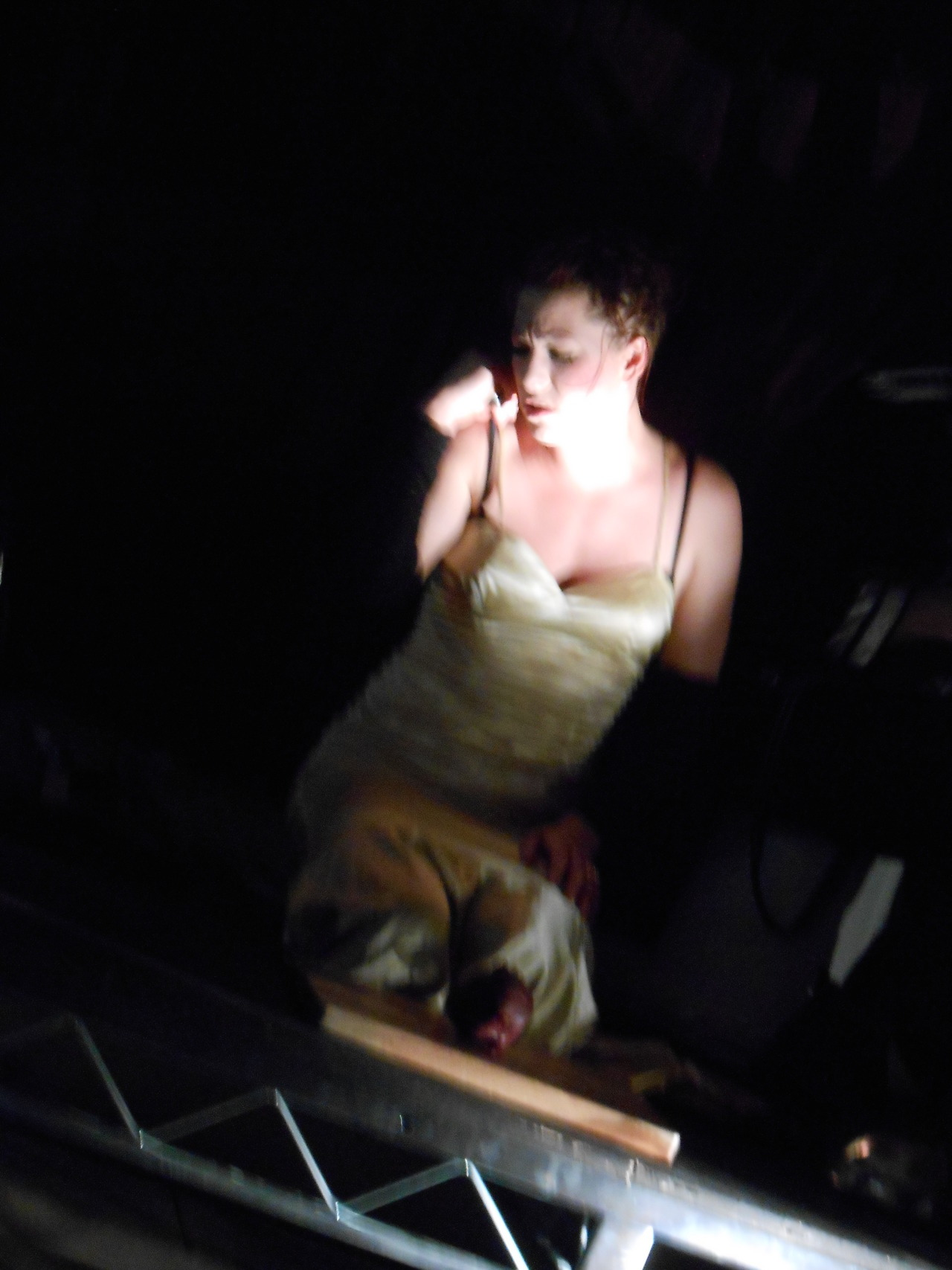 Amanda Palmer Live at her Kickstarter VIP Art Show and Acoustic Set at Pop tART Gallery… July 19th, 2012