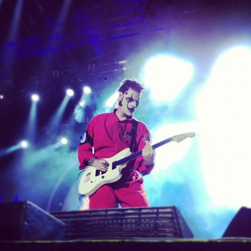 Jim live from Knotfest #slipknot #forthefans  (Taken with Instagram)