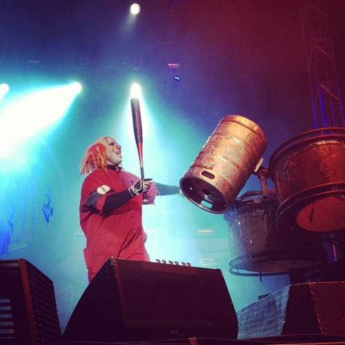 Clown live from Knotfest #slipknot #forthefans  (Taken with Instagram)