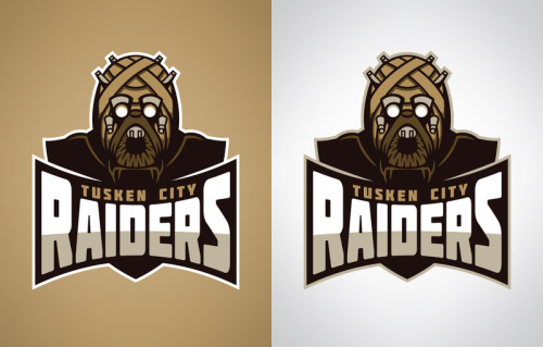 Tusken City Raiders My latest Star Wars inspired sports logo design. You can pick them up as prints, t-shirts, and various phone and laptop accessories at Society6… www.society6.com/wanderingbert
