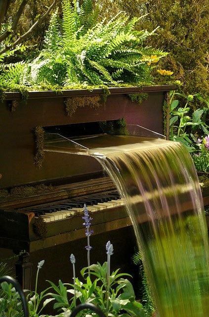 bluepueblo:  Piano Waterfall, Philadelphia, Pennsylvania photo via debbie