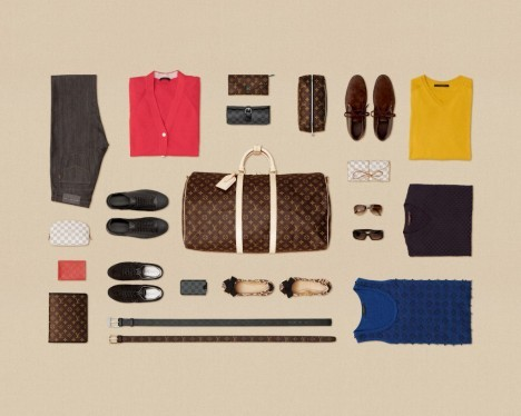 "Louis Vuitton ""The Art of Packing"""
