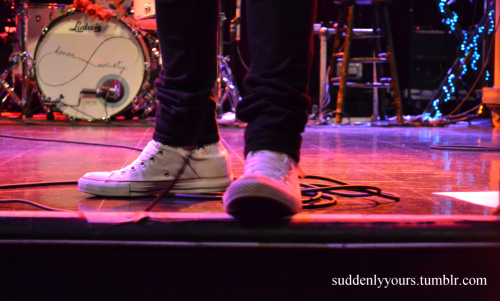 suddenlyyours:  Michael's shoesies.