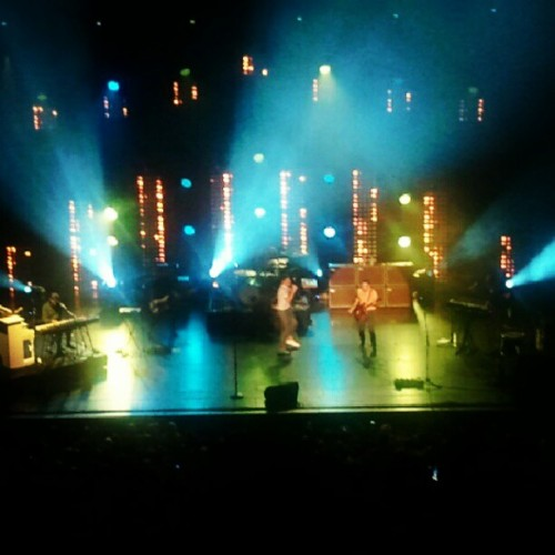 Fun. at the Wiltern in LA. (Taken with Instagram)