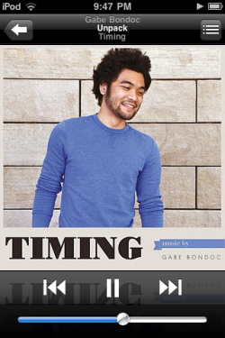 I had a little splurge on iTunes… It was totally worth it. Gave Bondoc for the win. :}