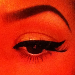 #eyeliner #eyes #black #eyebrown #shape #wave :3