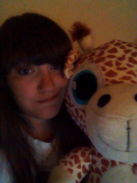 I won a giraffe at Seaside… cute!