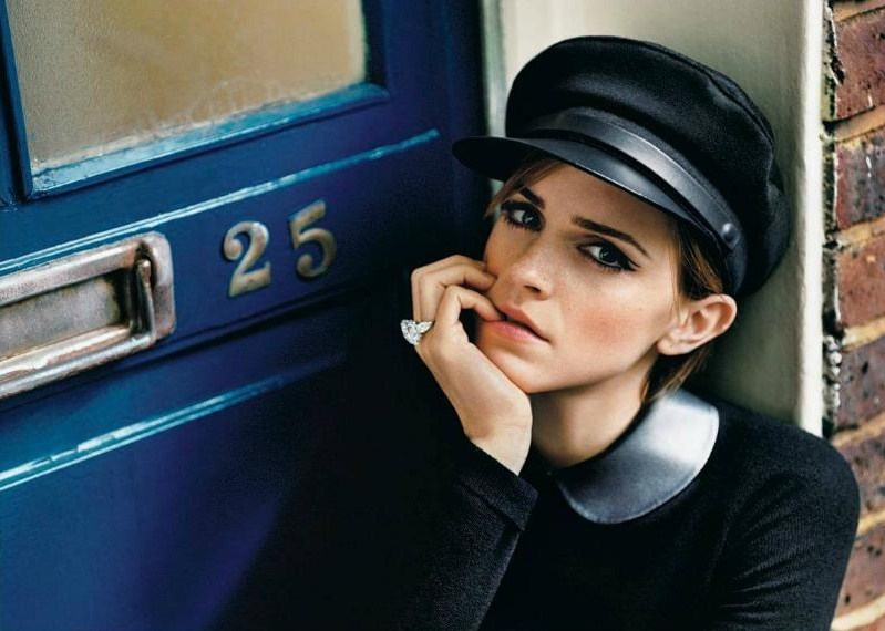 Emma Watson photographed by Alasdair McLellan for New York Times Style Magazine, September 2012