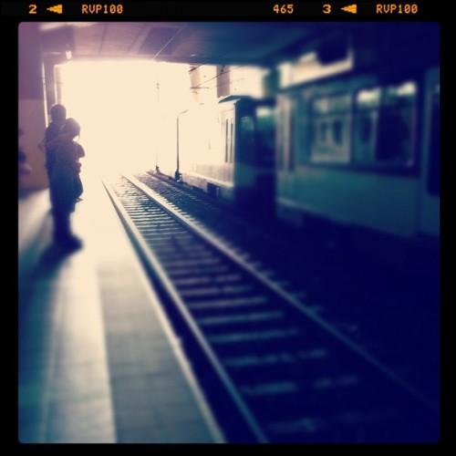Taken with Instagram at MRT 3 (Ayala Avenue Station)