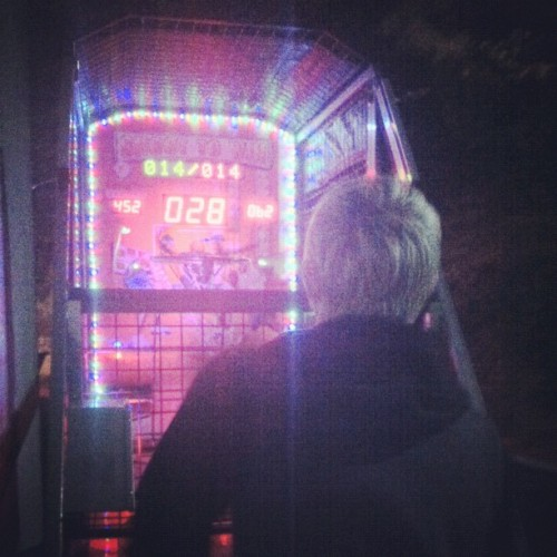 playing bball, @lecastlevania finally broke 100 (Taken with Instagram at Shoreline Amphitheatre)