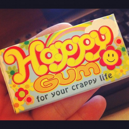 Why, thank you. #behappy (Taken with Instagram)