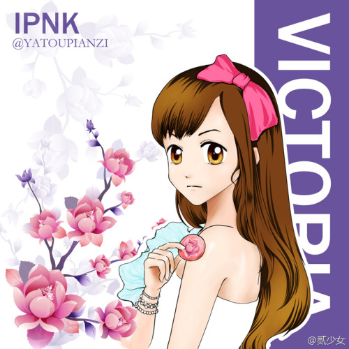 [FANART] 120818 Victoria for IPKN cr: 贰少女 via welovevictoria -Vo