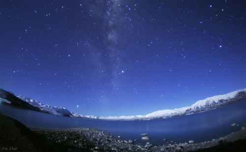Winter Night of Southern New Zealand