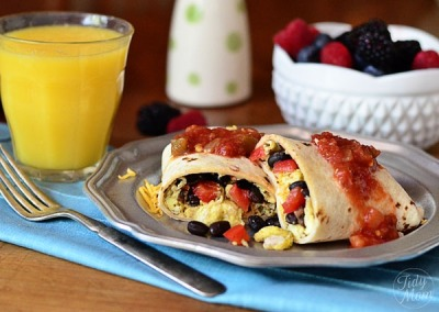 Breakfast burrito: good morning!