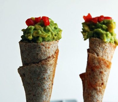 Guacamole cones for avocado lovers