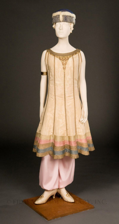 Ensemble Paul Poiret, 1913 The FIDM Museum