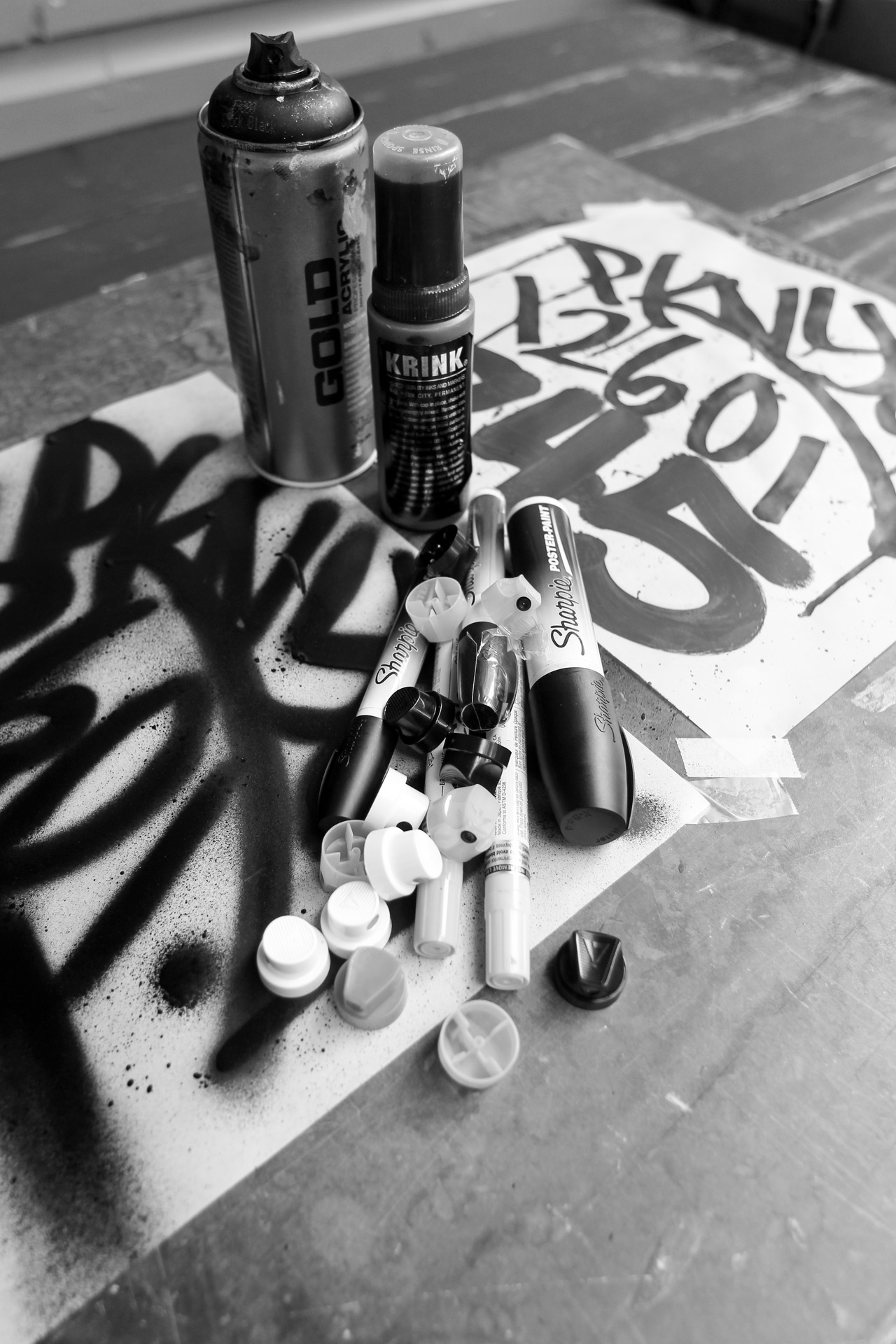 tools of the trade….HIP HOP DON'T STOP!