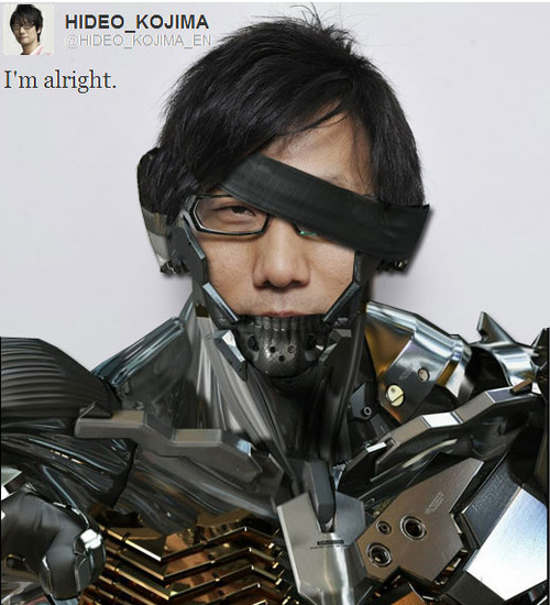 just Hideo Kojima  because.