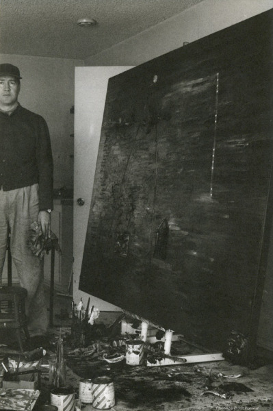 snowce:  David Lynch in his studio, 1991
