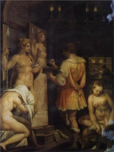 Giorgio Vasari, The Studio of the Painter, approx. 1563