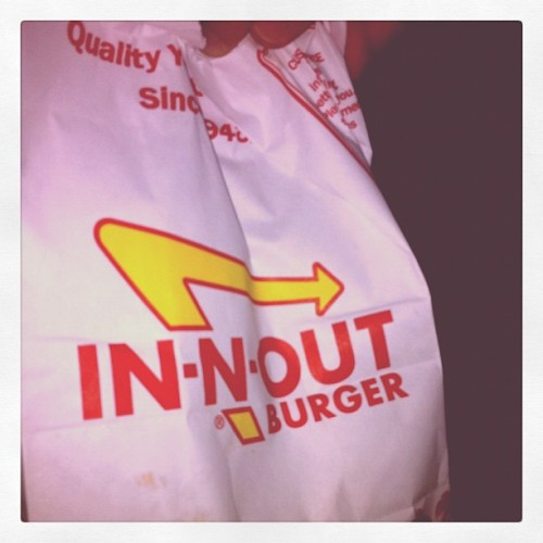 Late night dining in SoCal. Priceless #foodporn #foodspotting #inandout (Taken with Instagram)