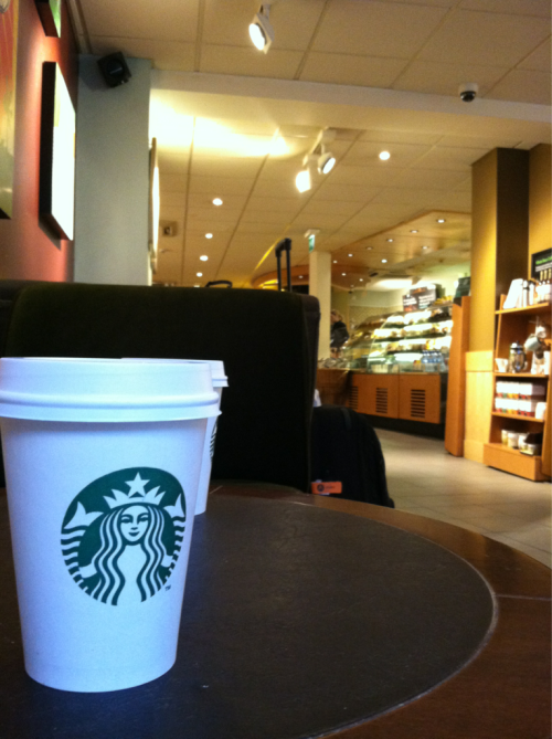 I sold out in Bath #starbucks. However, I will add that Starbucks a) makes me feel at home in foreign lands and b) gave me my biggest musical break when my former band was featured on their Off The Clock Vol. 1 CD