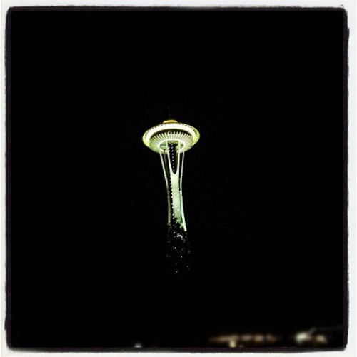 Space Needle at 2:16 am (Taken with Instagram)