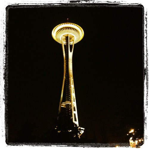 More Space Needle  (Taken with Instagram)