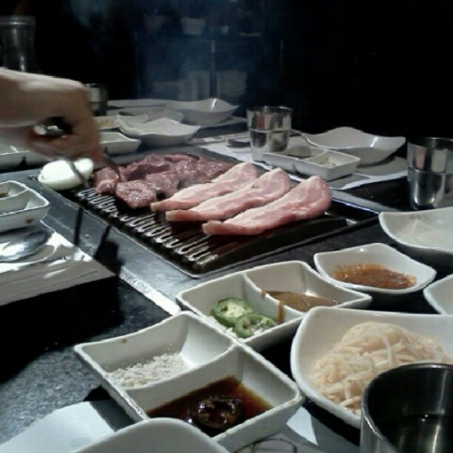 Road to Seoul :D #kbbq #nom (Taken with Instagram)