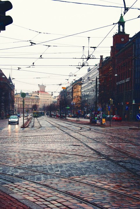 dodostad:  lifeoverdiamonds:  Helsinki Spring 2012  hometown :*  I like living in Helsinki and I think it's beautiful photo, because it's not so obviously beautiful picture of Finnish summer or winter night.