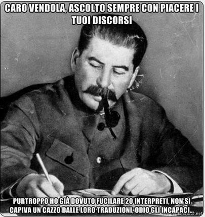 Letter Writing Josif Stalin.