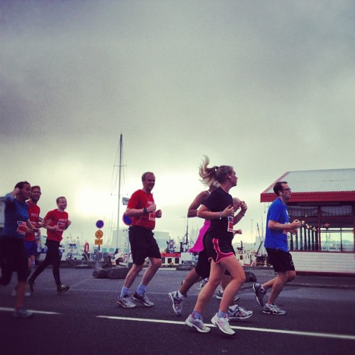 The Reykjavík Marathon is happening right now. Photo by Ben Stiller.