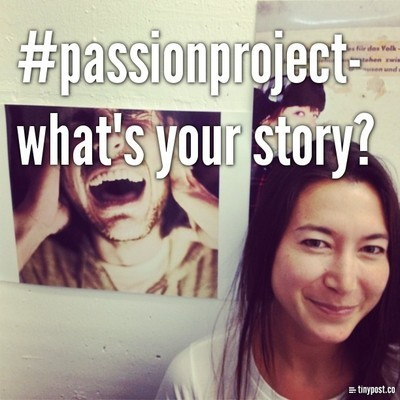What's your passion? Share your story here: http://passionprjct.tumblr.com/ You can use images, audio, Loops, gifs, words & more to tell your story. Submit your audio story here via SoundCloud!