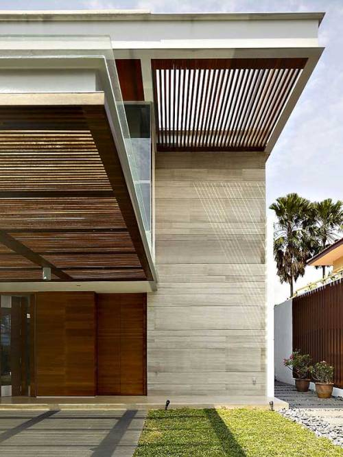justthedesign:  justthedesign: Singaporean Residence By Architectural Studio ONG&ONG