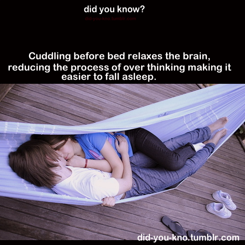 did-you-kno:  Source  EVIDENCE FOR CUDDLES! :D