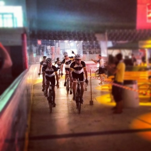 Team Laureus 2 arriving in the IWC Arena in Schaffhausen. (Taken with Instagram at IWC Arena.)