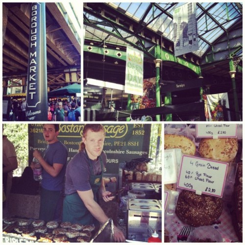 Saturday morning at the #BoroughMarket #London  (Scattata con Instagram presso Borough Market)