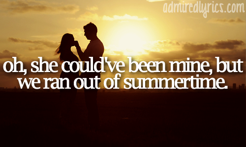 Out of Summertime - Scotty McCreery