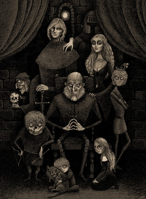 The Lannister Family by ~bubug