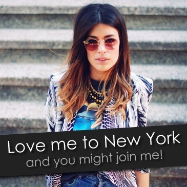 VOTE FOR ME AND LET'S GO TO NYC! http://www.fashiolista.com/item/7697067/