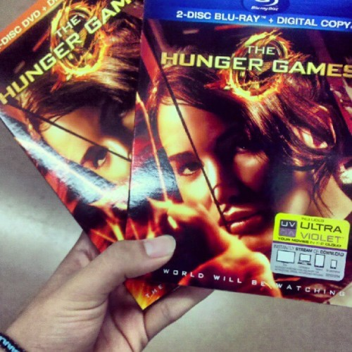 Because I'm such a fan ;) #HungerGames (Taken with Instagram)