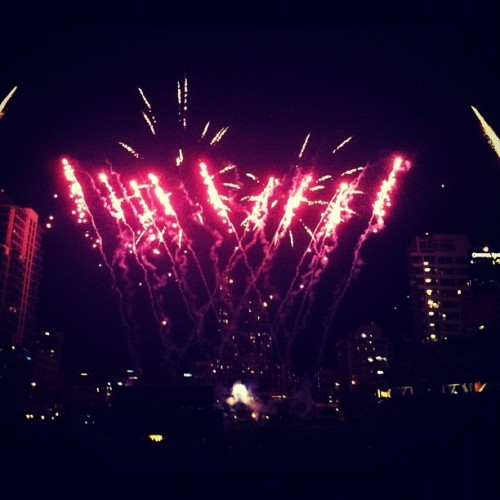 And then there were fireworks. #padres #baseball   (Taken with Instagram)
