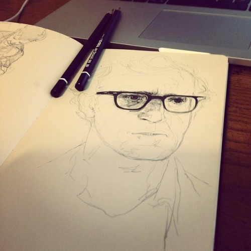 Woody Allen WIP… (Taken with Instagram)