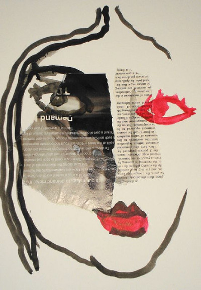 Face 4 by Lohan Gunaweera on Flickr.Face 4 Mixed media on paper, October 7, 2006 Part of 2006 Artsomofo daily art making project