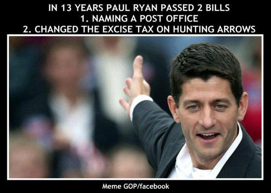 "reagan-was-a-horrible-president: "" Yep. http://www.huffingtonpost.com/2012/08/12/paul-ryan-bills_n_1769816.html "" Impressive record."