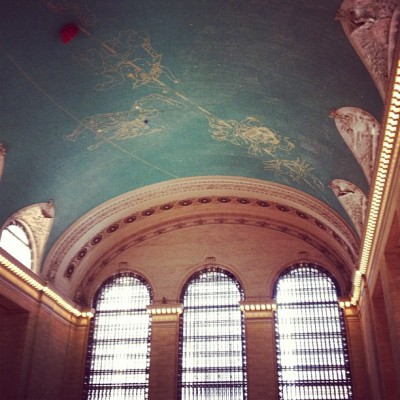 travelbyfoldingamap:  GCT (Taken with Instagram at Grand Central Terminal)