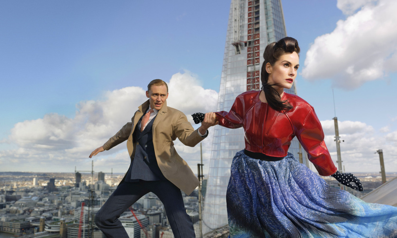 Michelle Dockery and Tom Hiddleston for TIME Style & Design