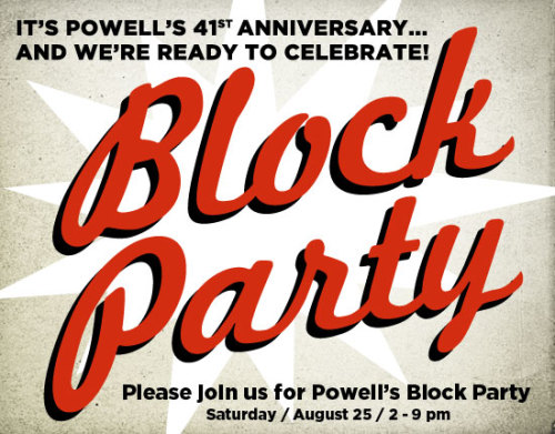 It's our 41st anniversary — so we're having a block party, and you're invited! Come hang out with us and join the celebration.